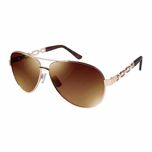 South Pole Full Frame Aviator UV Protection Sunglasses-Womens