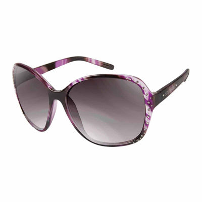 South Pole Womens Full Frame Square UV Protection Sunglasses