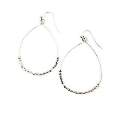 a.n.a 2 1/4 Inch Hoop Earrings