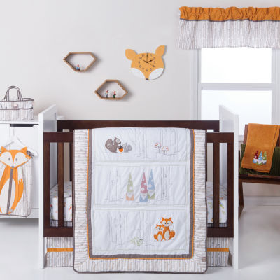 Trend Lab Gnome Boy 4-pc. Crib Bedding Set