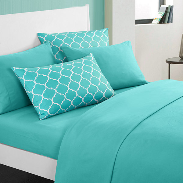 Solid with Bailee Print Sheet Set