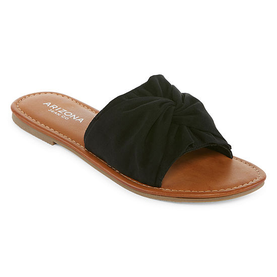 72263a5fcd74 Arizona Gabi Womens Slide Sandals JCPenney