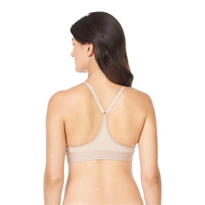 Warners Play It Cool Wireless Racerback Full Coverage Bra-Rm4281a