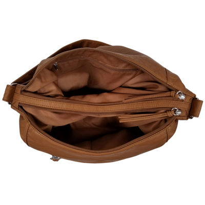 St. John's Bay Zippered Hobo Bag