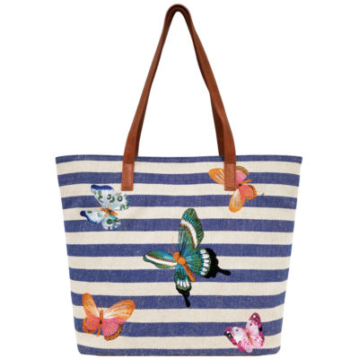 St. John's Bay Embroidered Tote Bag