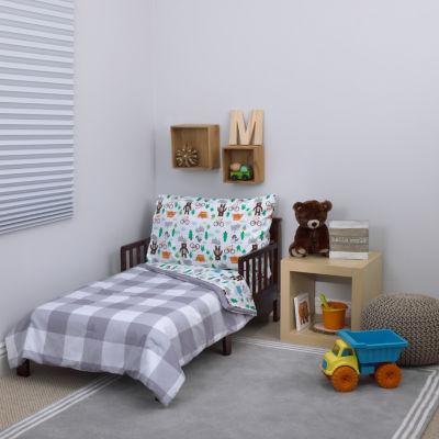 Carter's Woodland Boy 4-pc. Toddler Bedding Set