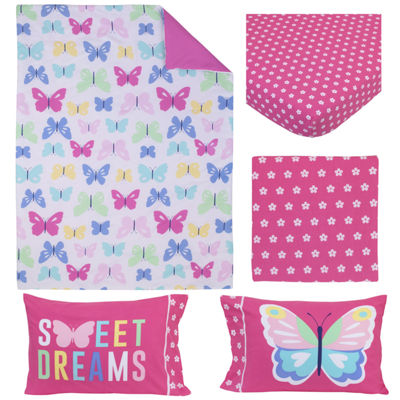 Carter's Butteflies 4-pc. Toddler Bedding Set