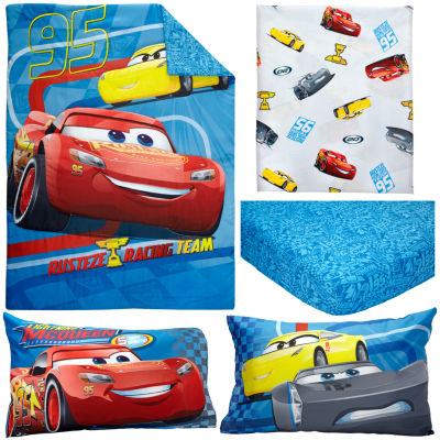 Disney Cars 3 4-pc. Cars Toddler Bedding Set