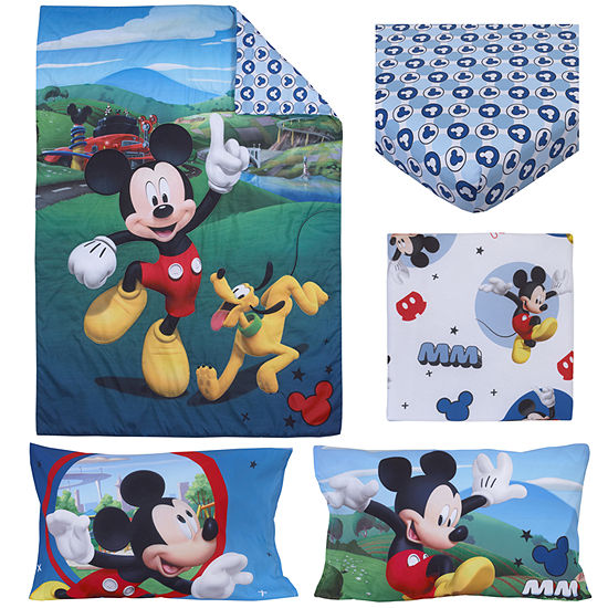 Disney Mickey Mouse Playhouse 4-pc. Mickey Mouse Toddler Bedding Set