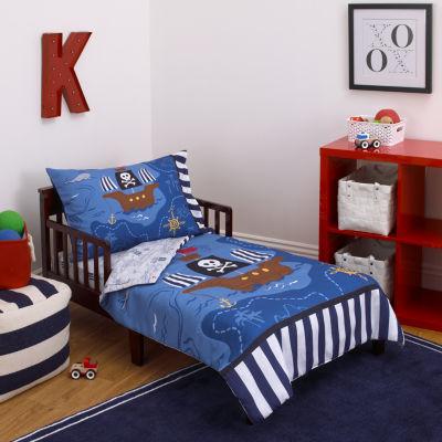 Little Tikes Pirate 4-pc. Toddler Bedding Set