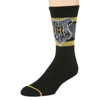 Warner Bros Novelty Socks 1 Pair Harry Potter Crew Socks-Mens