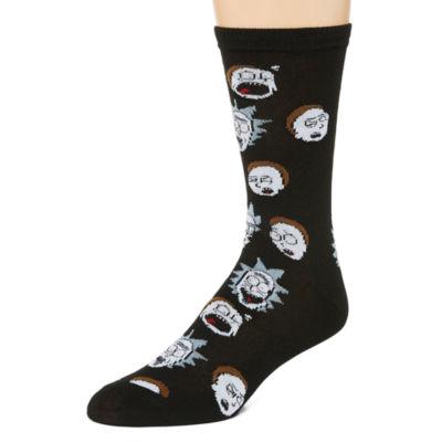 Novelty Socks 1 Pair Crew Socks-Mens