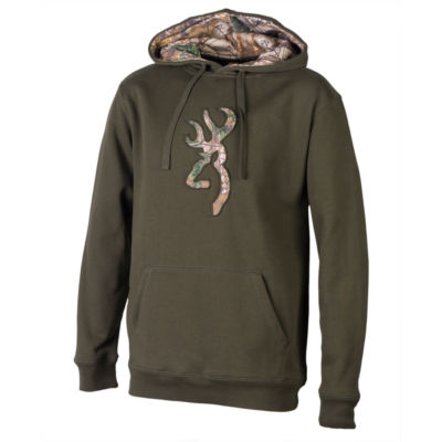 Browning Men's Buckmark Camo Sweatshirt