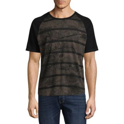 i jeans by Buffalo Short Sleeve Henley Shirt