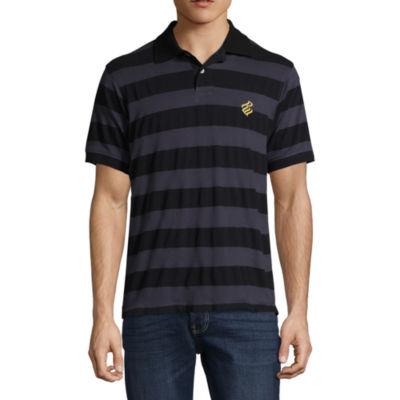 Rocawear 10 Men Short Sleeve Knit Polo Shirt