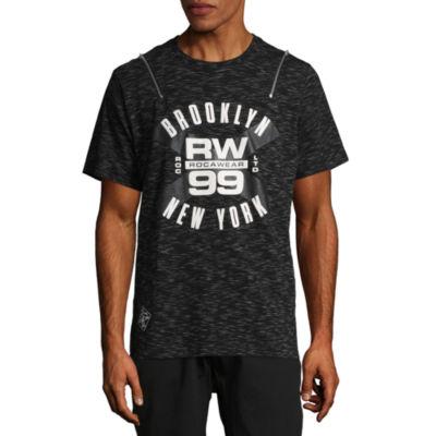 Rocawear 10 Men Short Sleeve Crew Neck T-Shirt