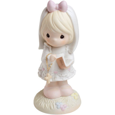 "Precious Moments  ""This Day Has Been Made In Heaven""  Bisque Porcelain Figurine  #523496"