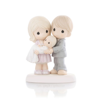 """Precious Moments  """"Grow In The Light Of His Love""""  Bisque Porcelain Figurine  #830014"""