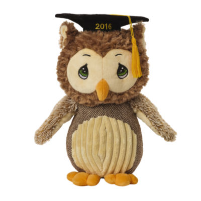 "Precious Moments  2016 Dated  ""Look Whoo's Graduating!""  Stuffed Animal  #154502"