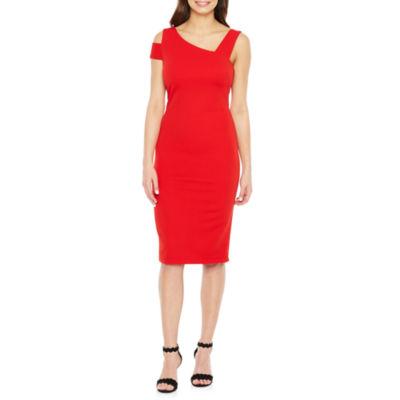 Premier Amour Sleeveless Bodycon Dress