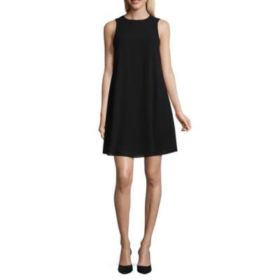 Jessica Howard Sleeveless A-Line Dress-Petites
