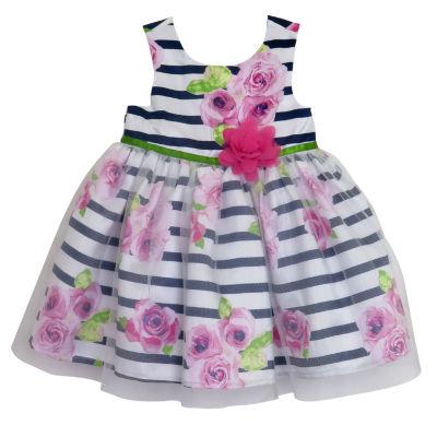 Lilt Sleeveless Floral A-Line Dress - Baby Girls