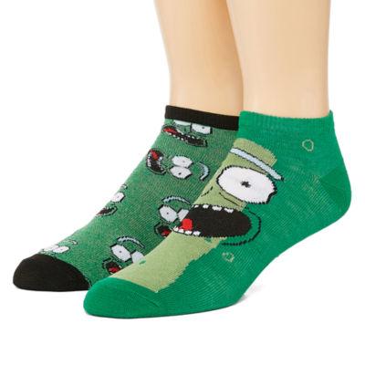 Novelty Socks 2 Pair Low Cut Socks-Mens