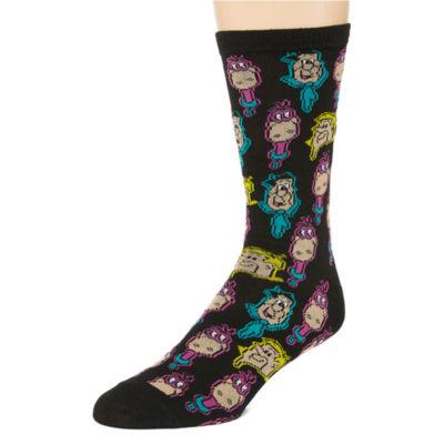 Warner Bros Novelty Socks 1 Pair Crew Socks-Mens