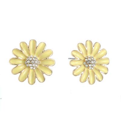 Gloria Vanderbilt Brass 20.1mm Stud Earrings