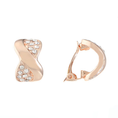 Gloria Vanderbilt Brass 20.8mm Hoop Earrings