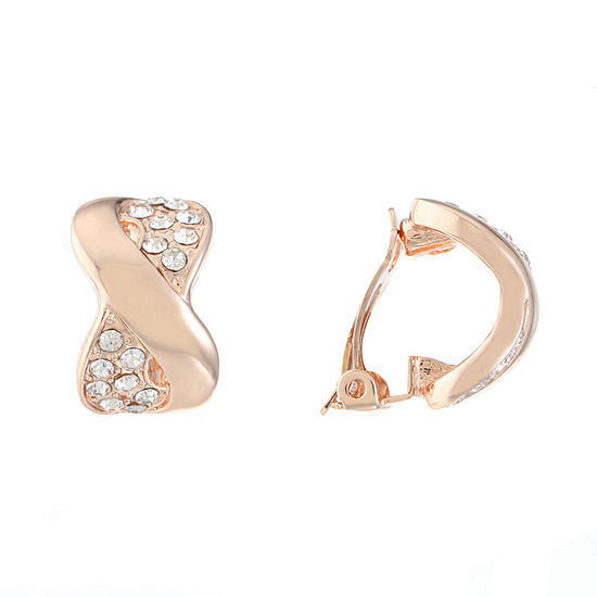 Gloria Vanderbilt 1 Pair Hoop Earrings