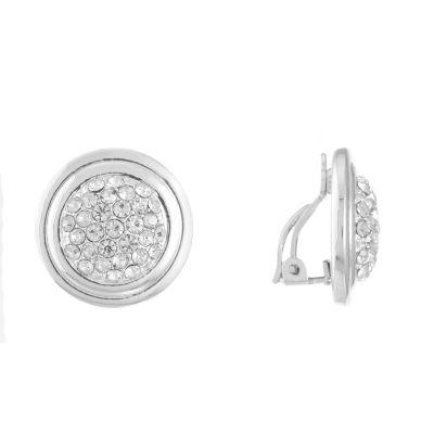 Gloria Vanderbilt Brass 20.8mm Stud Earrings