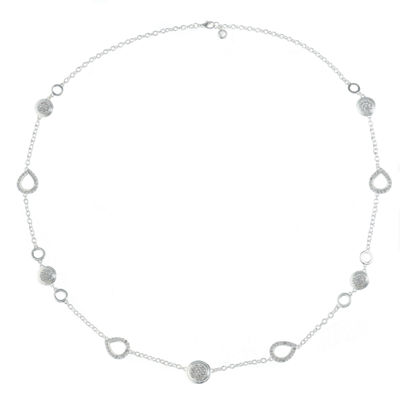 Gloria Vanderbilt Womens Brass Strand Necklace