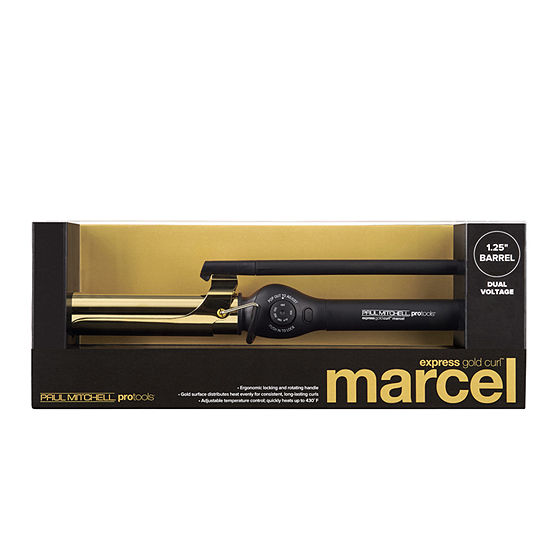 Paul Mitchell Appliances Express 1.25 Gold Curl Marcel 1 1/4 Inch Curling Iron