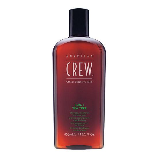 American Crew 3-n-1 Tea Tree Shampoo, Conditioner and Body Wash  - 15.2 oz.