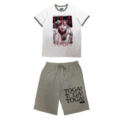 Toga Toga Tee & Jam Set Mens Shorts Pajama Set 2-pc. Short Sleeve