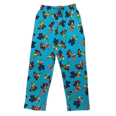 Nintendo Super Mario Jersey Sleep Pajama Pants