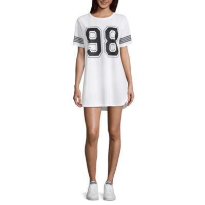 Flirtitude Varsity Dress - Juniors