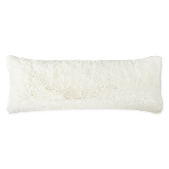 JCPenney Home Back To Campus Shag Body Pillow Cover