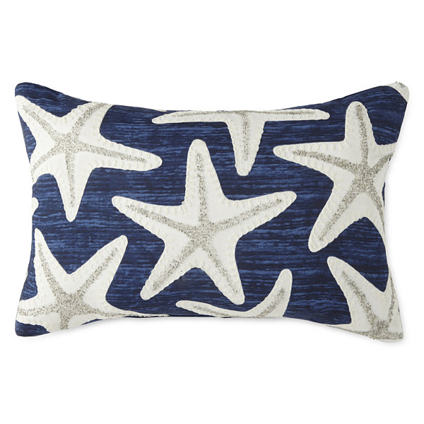 JCPenney Home Regatta Rectangular Throw Pillow