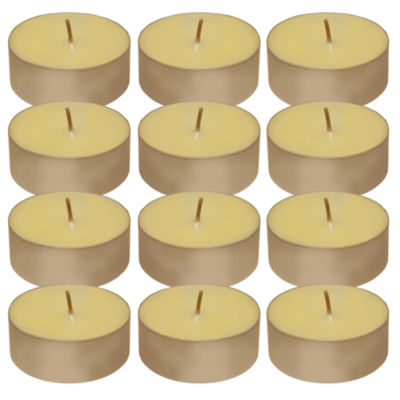 Extra Large Citronella Tea Light Candles (Set of 12)