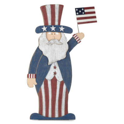 JCPenney Home Americana Uncle Sam Leaning Decor