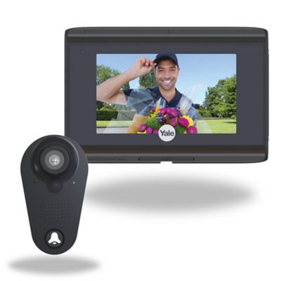 Yale Look Door Viewer - Wi-Fi Door Viewer, Video Doorbell – YRV740WI693