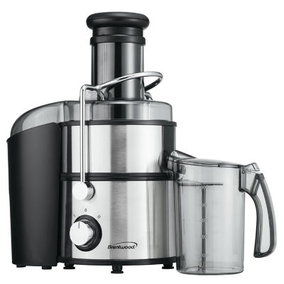 Brentwood JC-500 Power Juice Extractor 800W in Stainless Steel Body