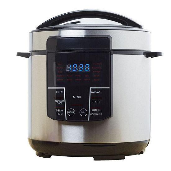 Brentwood 6 Qt. Electric Pressure Cooker