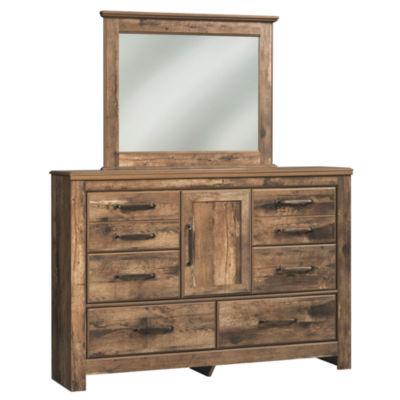 Signature Design by Ashley® Bartlett Dresser and Mirror