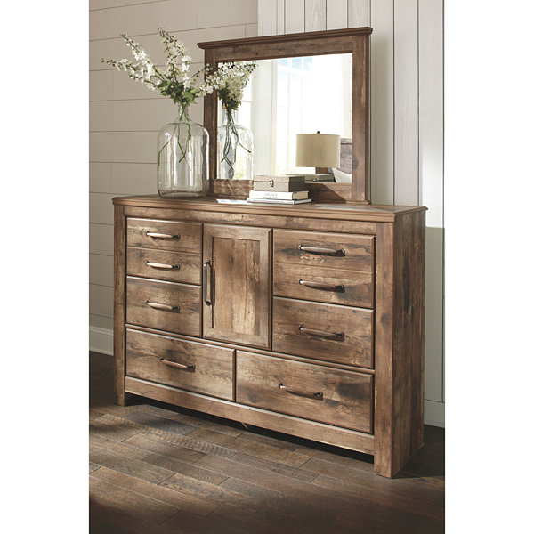 Signature Design by Ashley® Bartlett Dresser and Mirror