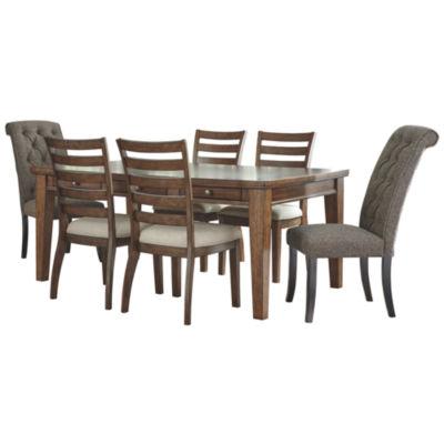 Signature Design by Ashley® Prestonwood 7 Piece Dining Set
