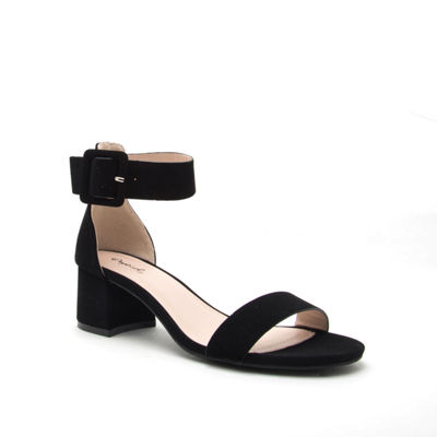 Qupid Womens Katz 37 Heeled Sandals