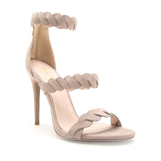 Qupid Womens Diti 54 Heeled Sandals